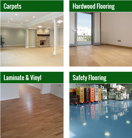 Our Flooring Products Include: